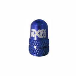 Bouchon de Valve Schrader Alu SIXPACK Couleur:Bleu