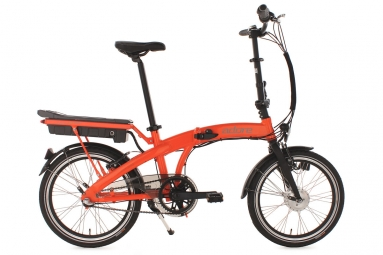 Velo de ville electrique adore zero orange 3v 250 watt