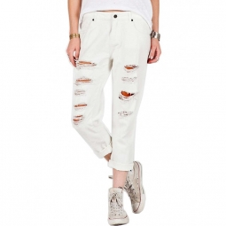 Pantalon Volcom Stoned Slim Slouch - Vintage White