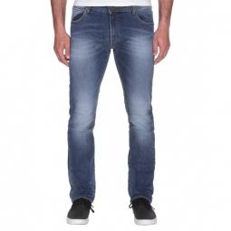 pantalon volcom vorta high jean light wash indigo unique