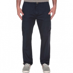 Pantalon Volcom Silent Ii Cargo - Black
