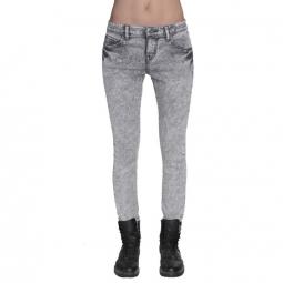 Pantalon Volcom Super Stoned Skinny - Black / Grey