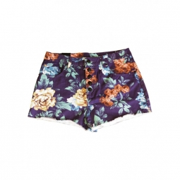 Short Insight Floral High Roller - Floral