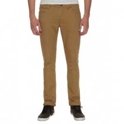 Pantalon Volcom 2X4 By 5 Pocket Twll - Dark Khaki