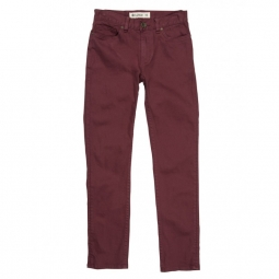 Pantalon element owen pt boy oxblood red 24