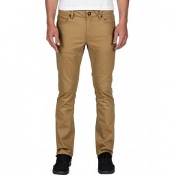 Pantalon Volcom Vorta Twill - Dark Khaki