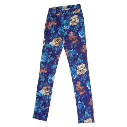 Pantalon insight floral high n mighty blue floral 29
