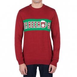 sweat volcom strangebrew blood red xl