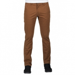 Pantalon Volcom Frickin Slim Chino - Mud