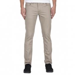 Pantalon Volcom Vorta Twill - Beige