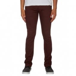 Pantalon Volcom 2X4 Twill 5Pckt - Plum