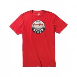 T-shirt Nixon Leon - Red