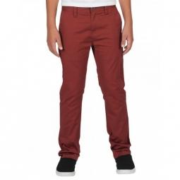 Pantalon Volcom Frickin Modern Stret - Dark Clay