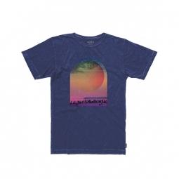 T-shirt Nixon Daybreak - Off Navy