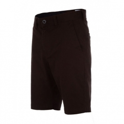 Short Volcom Frckn Mdn Strch Sht - Bark Brown