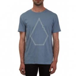 T shirt volcom drew bsc ash blue xs