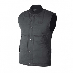 veste nixon regent vest black black wash s