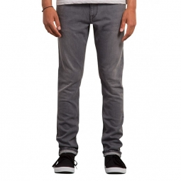 pantalon volcom vorta tapered cement grey 26