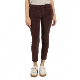 Pantalon Volcom Super Stoned Ankle - Plum