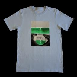 T shirt nixon double vision light blue s