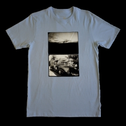 T shirt nixon kraft light blue s
