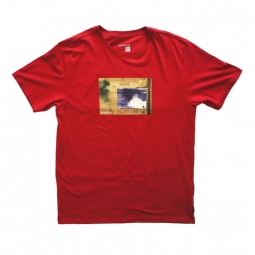 t shirt nixon ono red xl