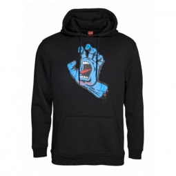 sweat santa cruz screaming hand black l