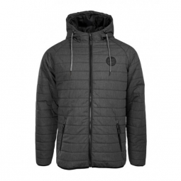 veste santa cruz outline dot black heather m