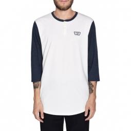 T shirt vans m cajon marshmallow dres blue heather s