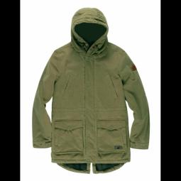 veste element roghan plus moss green m