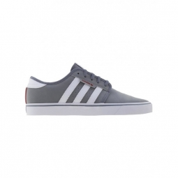 chaussures adidas seeley grey footwear white scarlet 42