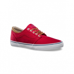 Chaussures vans m trig trim red white 40 1 2