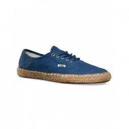 chaussures vans w authentic espadrille ensign blue 36 1 2