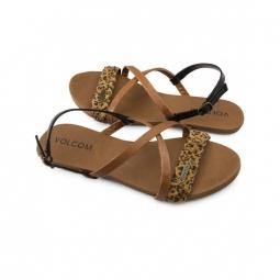 sandales volcom journey sndl cheetah