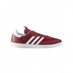 chaussures adidas samba adv collegiate burgundy white bluebird 44
