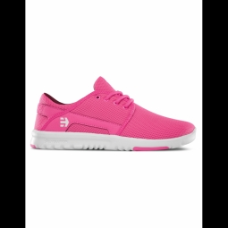 Chaussures Etnies Scout Wos - Pink White Pink