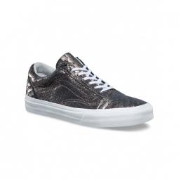 Chaussures vans u old skool metallic snake 36 1 2
