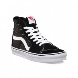 chaussures vans u sk8 hi black black white 36 1 2