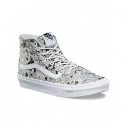 chaussures vans u sk8 hi slim italian weave true white 36 1 2