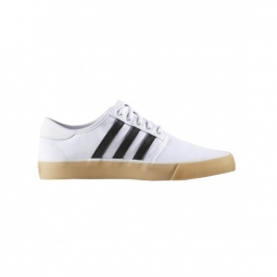 chaussures adidas seeley decon white core black 46