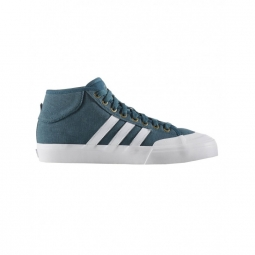 Chaussures adidas matchcourt mid mustery green crystal white gold metallic 44 2 3