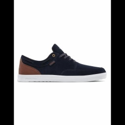 chaussures etnies dory sc navy brown white 41