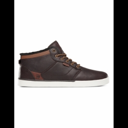 Chaussures etnies jefferson mid brown white 41 1 2