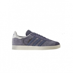 chaussures adidas gazelle w super purple off white 40