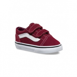 Chaussures vans t old skool v suede port royal black 19