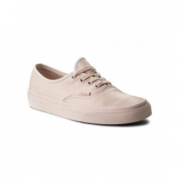 chaussures vans u authentic leather mono sepia rose 36 1 2