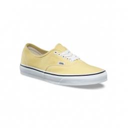 chaussures vans u authentic dusky citron true white 36 1 2