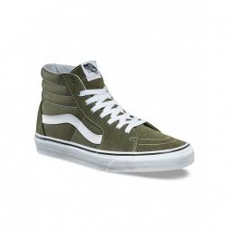 chaussures vans u sk8 hi winter moss true white 36 1 2