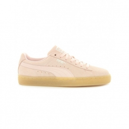 chaussures puma w suede classic bubble pearl 36