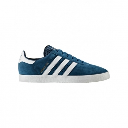 chaussures adidas 350 blue night withe gold metallic 40